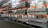 Cantilever stockage fourrures
